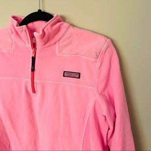 Vineyard Vines | Quarter Zip | Pink | Sweatshirt